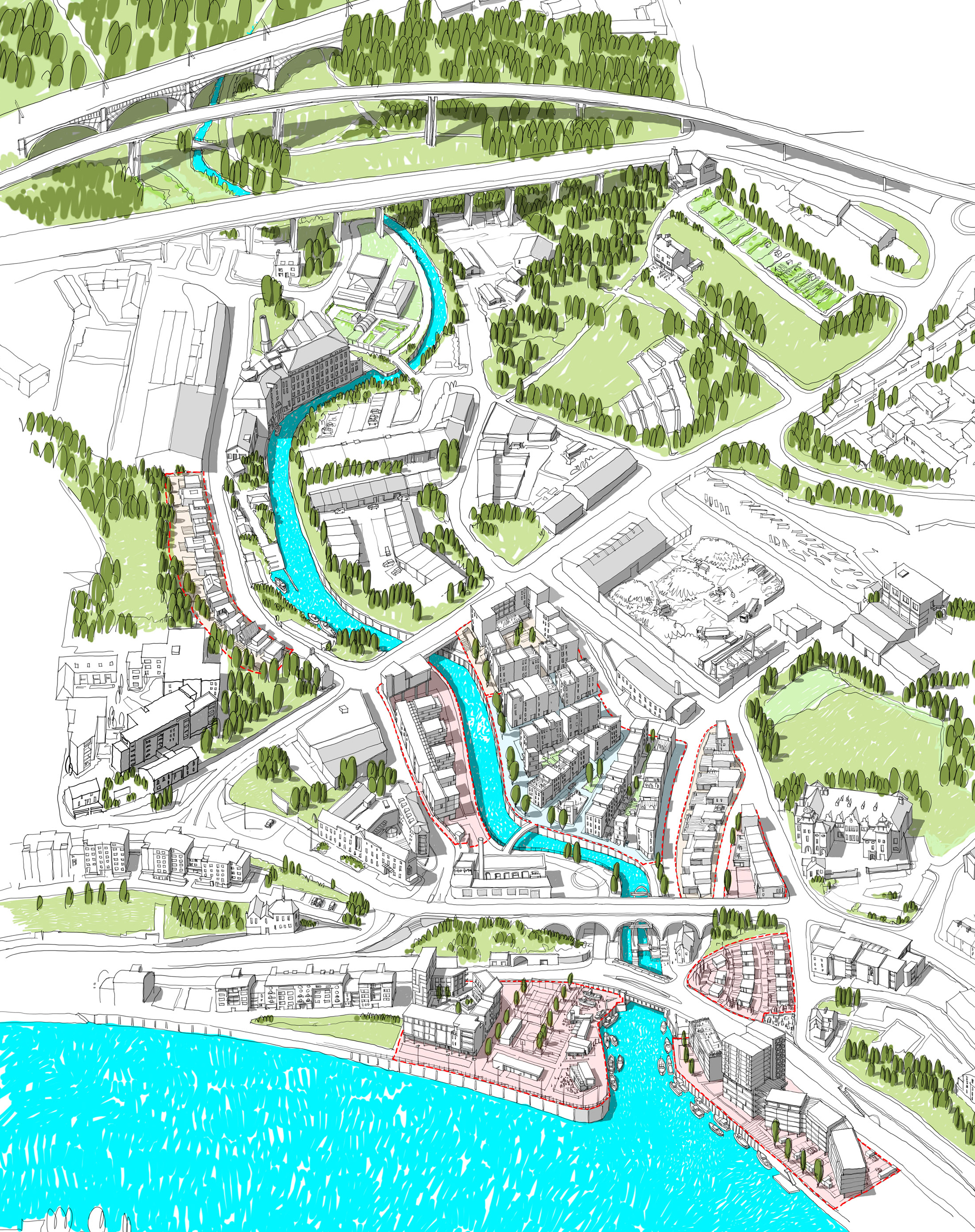 Lower Ouseburn Valley Masterplan URBED