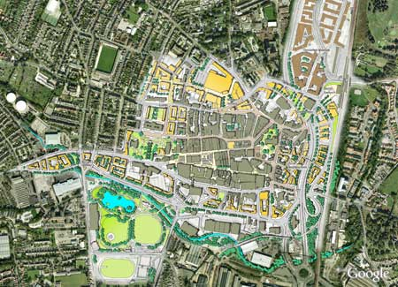 Chesterfield Town Centre   URBED on