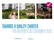 Phase one towards a quality charter growth in the Cambridge area