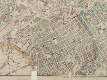 1871 map of Hulme