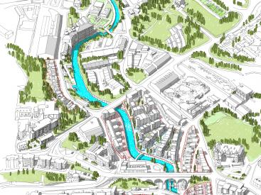 Initial Masterplan for the Lower Ouseburn Valley