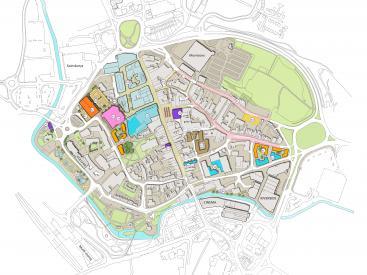 Stafford town centre masterplan