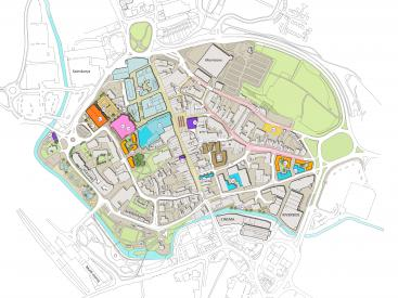 Stafford town centre masterplan