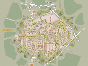 The Hyper Mobility Town