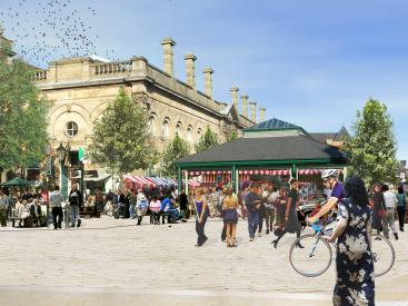 Accrington Market- re-imagined