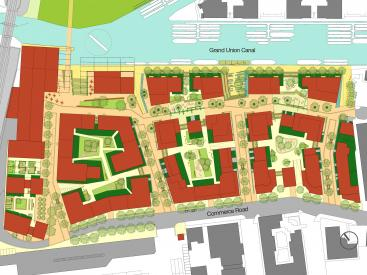Brentford Illustrative Masterplan
