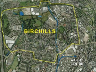 Birchills aerial diagram