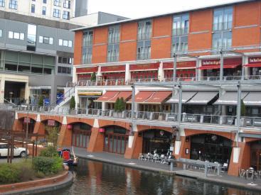 Birmingham's Brindley Place