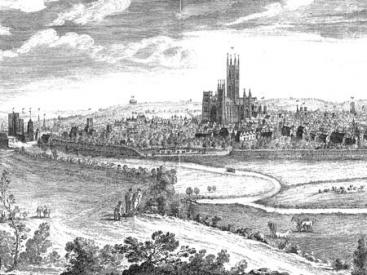 Buck Engraving of Canterbury