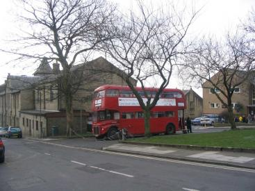 Our bus in Colne