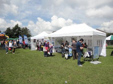 Consultation at the Wrose Carnival