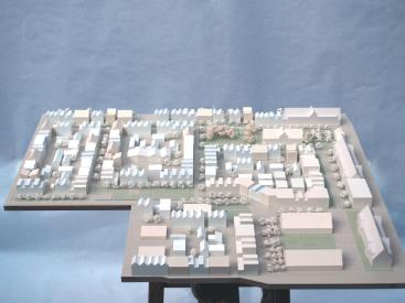 Heidelberg Urban strategy physical model