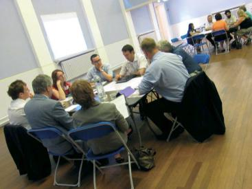 Darlaston round table discussions