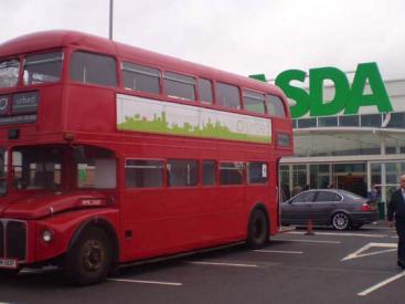 Darlaston consultation on the bus