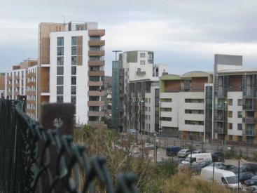 Brighton NEQ view into scheme