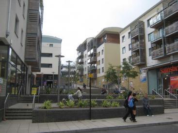 Brighton NEQ supermarket and public space