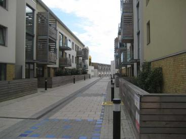 Brighton NEQ residential street above supermarket