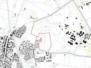 Fire Service College Site boundary