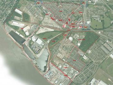 Garston Village Site plan