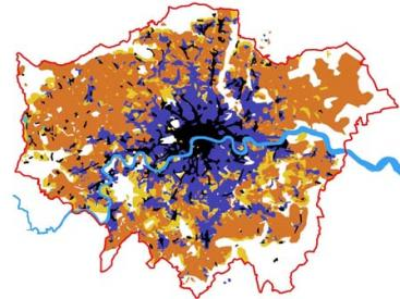 The growth of London
