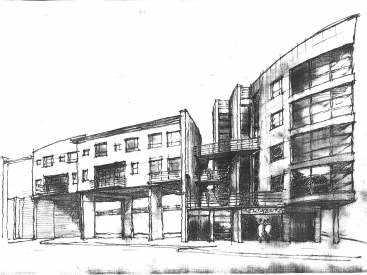 Homes for Change drawing