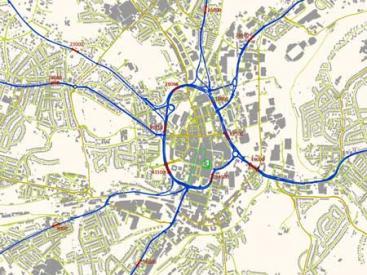 Huddersfield Traffic Flows