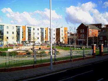 A new pocket park in Hulme