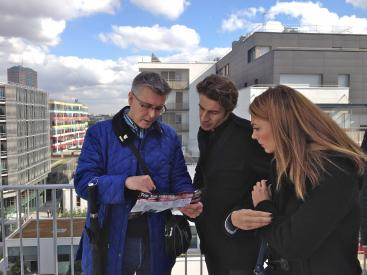 Mark Lucas, LB Redbridge speaks to Architects  on recent TEN visit to ZAC Claude Bernard, Paris