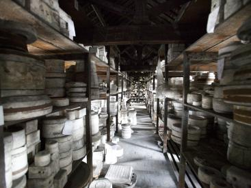 One of the mould stores at Spode