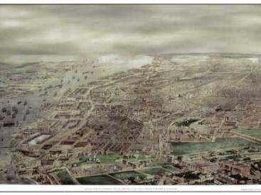 Historic View of Liverpool