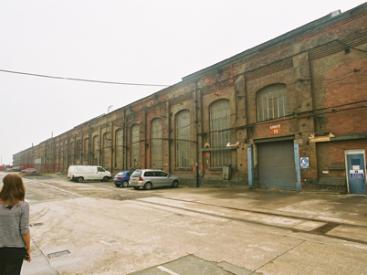 Locomotive Shed in Horwich