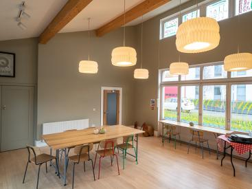 Community Café: Photo by Mark Loudon