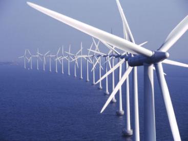 Middelgrunden wind farm Denmark