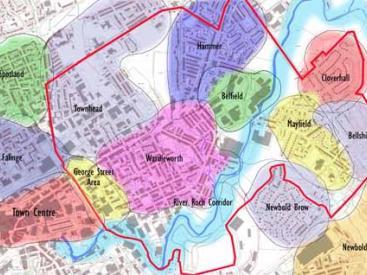 Neighbourhoods in East Central Rochdale
