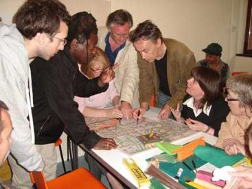 Design Charette with Old Traffor residents