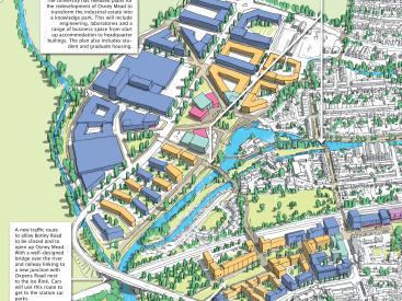 Oxford workshop bird eye view