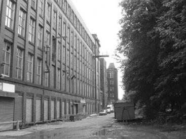 Peel Mill in Bury