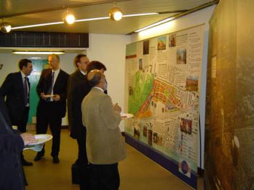 Southall Gas Works public exhibition