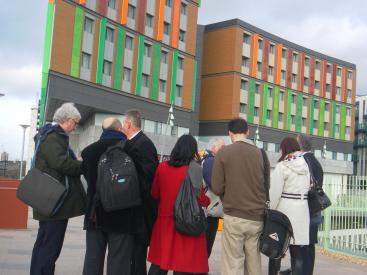 TEN Group vist to Tottenham February 2012