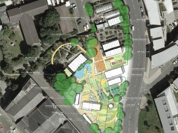 Hulme Community Garden Centre Plan