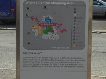 United Creatives Eye Widnes Map Board