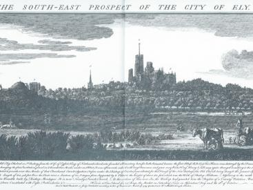 The South East Prospect of the City of Ely