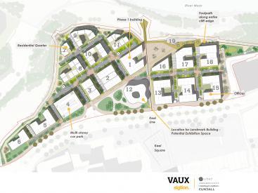 Vaux Illustrative Masterplan