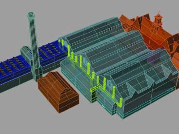 Victoria Baths 3D Model