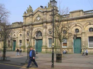 Market Hall as exists
