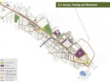 Access Parking Movement Plan