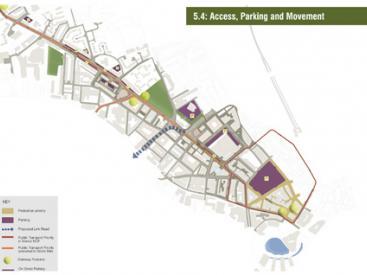 Access Parking Movement Plan