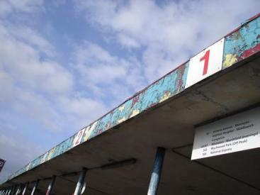 The Bus Station in Crewe