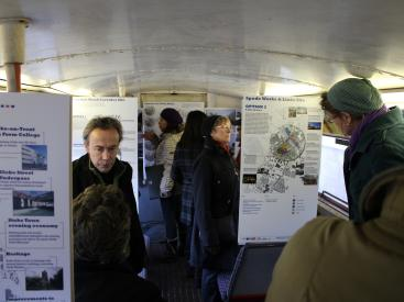 Consultation in the URBED bus