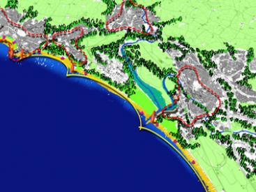 Irvine Bay Masterplan concept